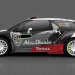 Citroën DS3 : nouvelle livrée pour le WRC