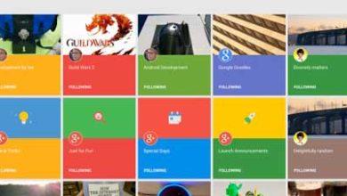 Photo of Collections : Google+ copie Pinterest