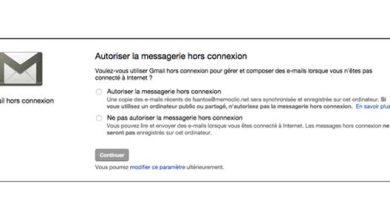 Gmail offline, mode d'emploi