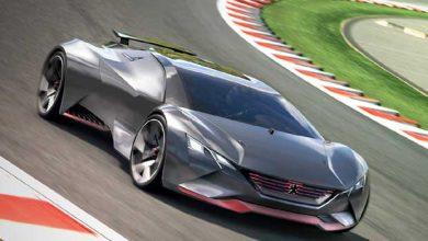 Photo de Peugeot : 0 à 100 km/h en 1,73 seconde pour le concept Vision GT