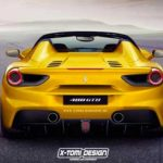 Ferrari : la version Spider de la 488 GTB officialisée à Francfort