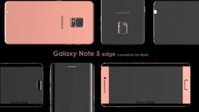 Photo de Galaxy Note 5 : la vidéo du concept d'une version Edge