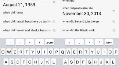 Photo de Google Search : les réponses anticipent votre question