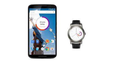Un widget et un cadran Android Wear pour Google Fit