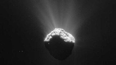 Photo de Rosetta : 12 images qui montrent la formation de la queue de la comète