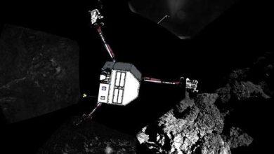 Photo de Rosetta : est-ce que Philae va répondre ?