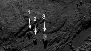 Photo of Rosetta : les mystérieuses roches en équilibre de Tchouri