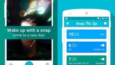 Snap Me Up, l'appli qui vous force à faire un selfie pour désactiver le réveil