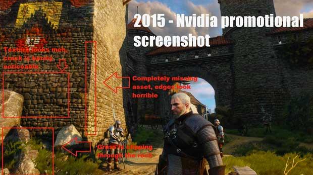 The Witcher 3 : le décalage entre les promesses et la réalité
