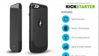 Photo de Une coque pour recharger l'iPhone 6 sans chargeur