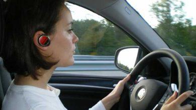 Photo de 1er juillet : plus d'oreillette en conduisant