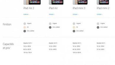Photo de Apple retire l'iPad Mini première génération de la vente