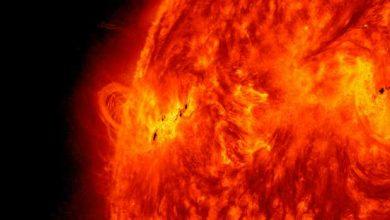 Début d'explication de la chaleur du soleil