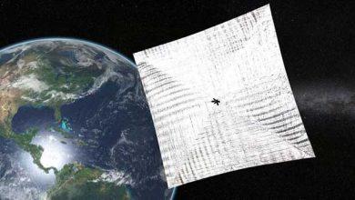 Photo de Déploiement réussi pour le voilier solaire mis en orbite