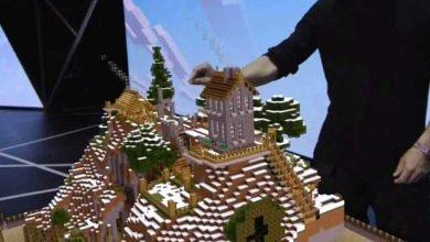 Photo de E3 : Microsoft fait tourner Minecraft sur Hololens