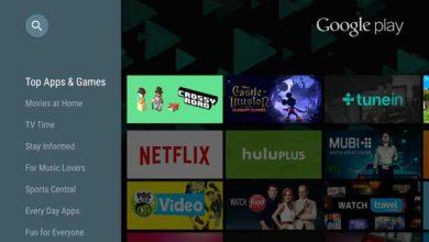 Photo de Google : des centaines d'applications pour Android TV