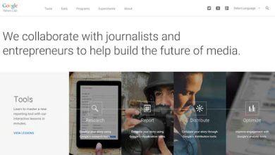 Photo of Google présente son nouveau News Lab