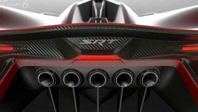 Photo of Gran Turismo 6 : vidéo de présentation de la SRT Tomahawk Vision