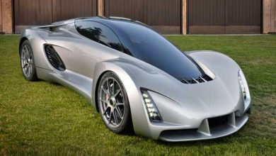 Photo de La Blade supercar : une voiture en 3D