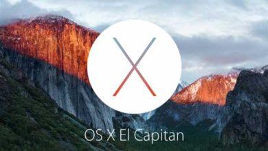 Photo of OS X 10.11 El Capitan : liste de compatibilité