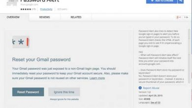 Password Alert : une extension Chrome pour éviter le phishing