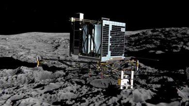 Photo de Philae : 19 minutes d'échange avec la Terre