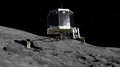 Photo de Philae : Rosetta va braver la poussière de Tchouri