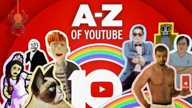 « The A-Z of YouTube » : une vidéo pour retracer les 10 ans de YouTube
