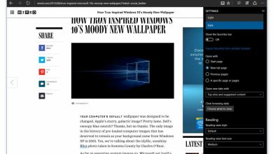 Windows 10 (build 10158) : avec Microsoft Edge et Cortana intégré à Office 365