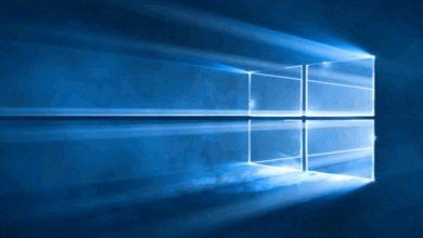 Photo de Windows 10 : des fonds d'écran faits de lumière