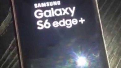 Photo of Galaxy S6 Edge+ : de nouvelles images en fuite