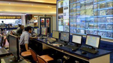 À Jakarta, la police a déployé pour la première fois des drones pour réguler la circulation.