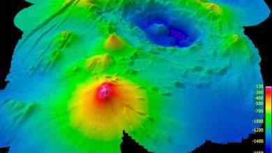 Photo de Des volcans sous-marins pour expliquer la séparation de Nouvelle-Zélande de l'Australie