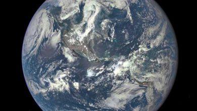 Photo de DSCOVR : une image de la Terre prise à 1,6 million de kilomètre de distance