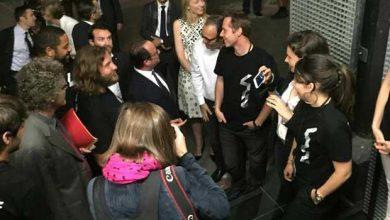 Photo de École 42 : Xavier Niel fait faire le tour du propriétaire à François Hollande