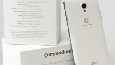 Photo of La marque Commodore revient avec un smartphone Android