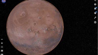 Photo de La NASA propose une sorte de Google Earth de la planète Mars