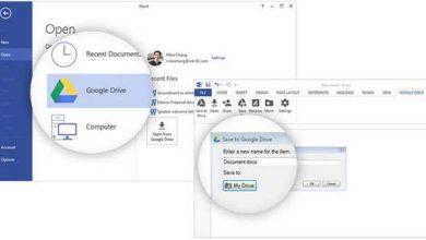 Office pour Windows : un plug-in pour accéder directement à Google Drive