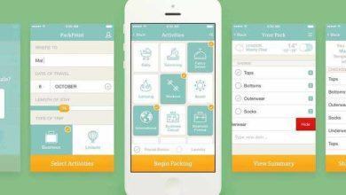 PackPoint : une application pour vous seconder pour faire vos bagages