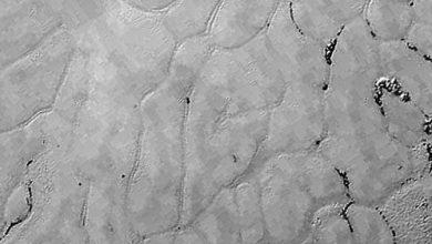 Photo de Pluton : après les montagnes, la NASA dévoile des plaines glacées