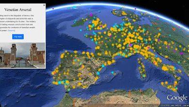 Photo de Google Earth : « Voyager » pour célébrer les 10 ans du service