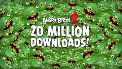 Photo de Angry Birds 2 : en tête des téléchargements sur iPhone et iPad