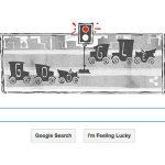 Google célèbre l'anniversaire du premier feu de circulation électrique