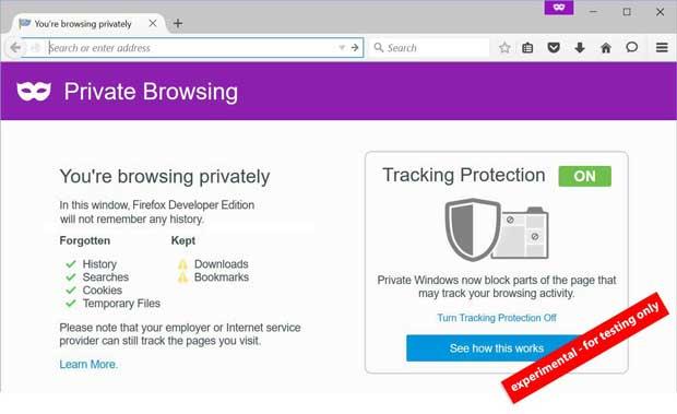 Firefox : cap sur la protection de la vie privée des utilisateurs