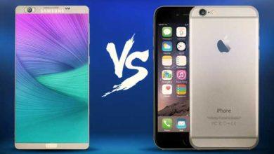 Photo of iPhone 6 : pas si dépassé que cela par le nouveau Galaxy Note 5