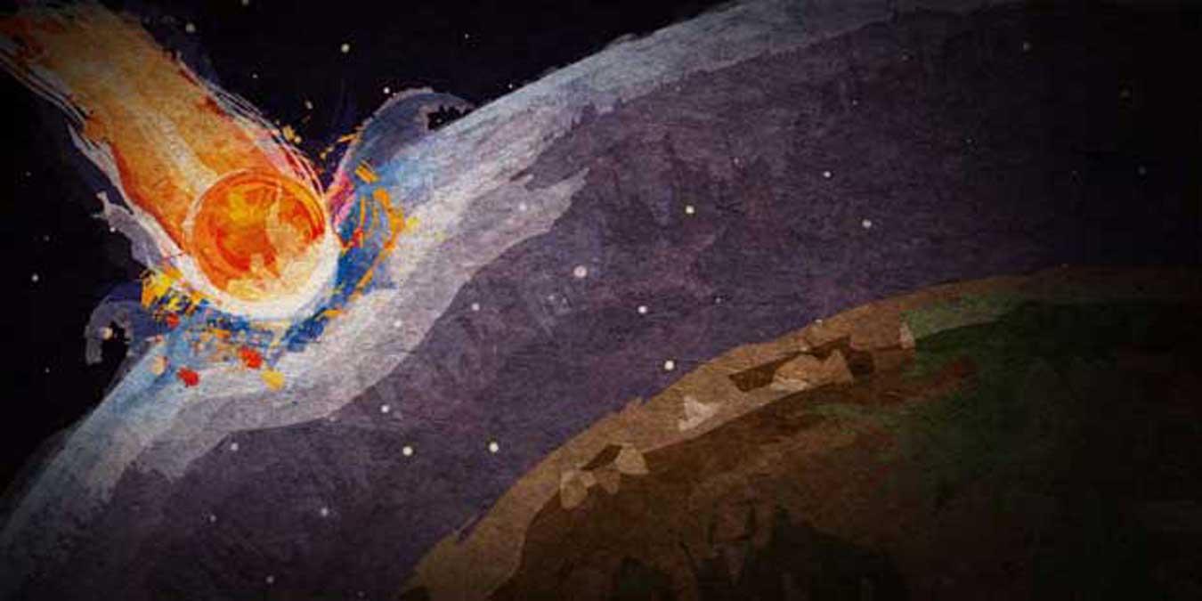 Les comètes : sources de mort et de vie pour la Terre ?