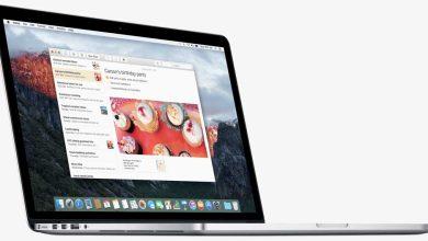 Aperçu d'OS X 10.11 El Capitan : Application Notes d'Apple