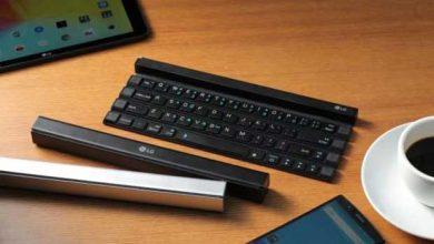 Photo de Rolly Keyboard KBB-700 : le clavier mobile de LG… qui s'enroule