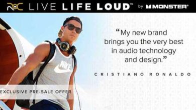 ROC Live Loud : une gamme de casques audio signée Cristiano Ronaldo
