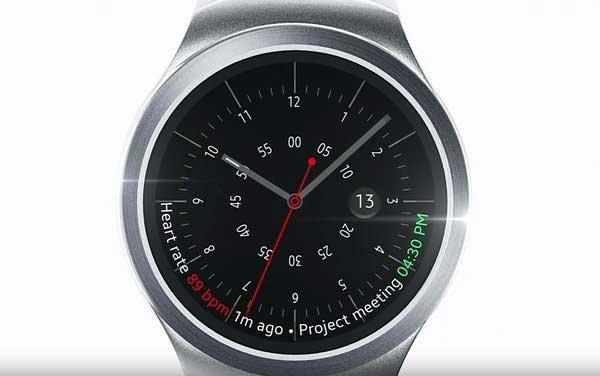 Samsung : la bande-annonce de la future smartwatch Gear S2